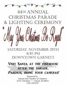 garnett christmas parade