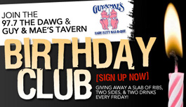 Join our Birthday Club!