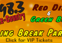 Red Dirt and Green Beer Event