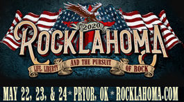Rocklahoma: May 22-24, 2020